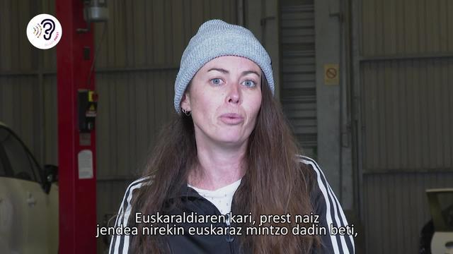Marina Auger Lecuona euskaraldiarekin bat!