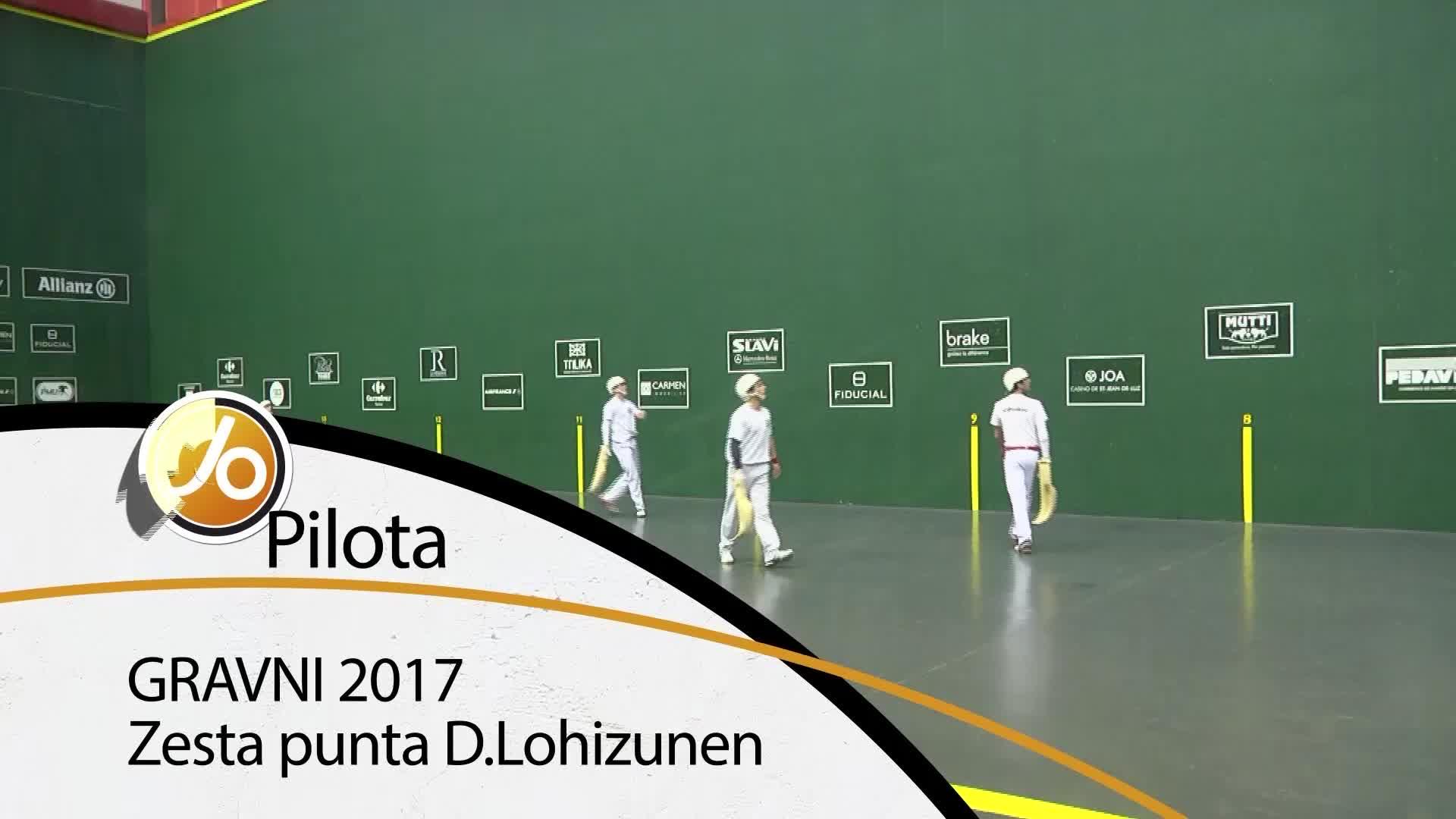 Gravni 2017: Zesta punta Donibane Lohizunen
