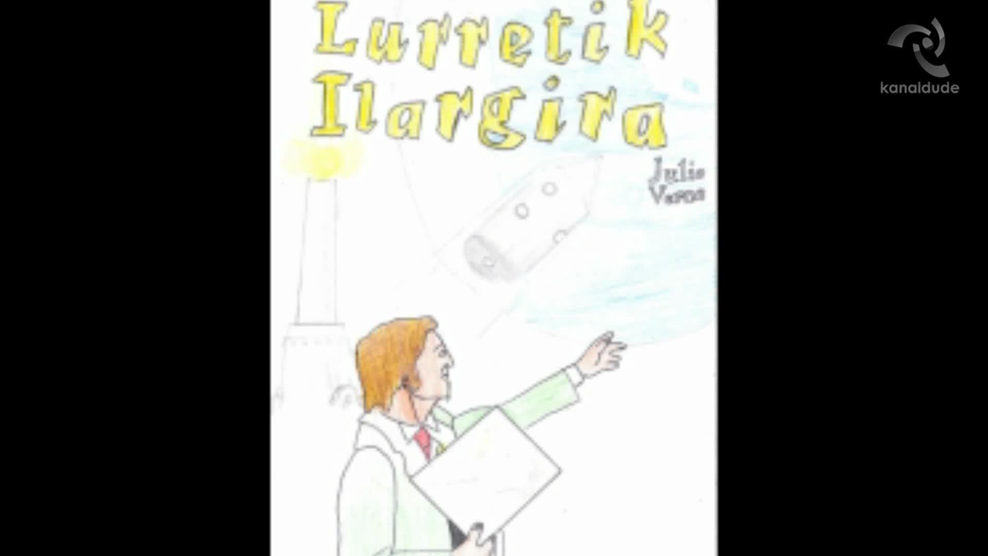 """""""Lurretik ilargira"""" Julio Verne"""