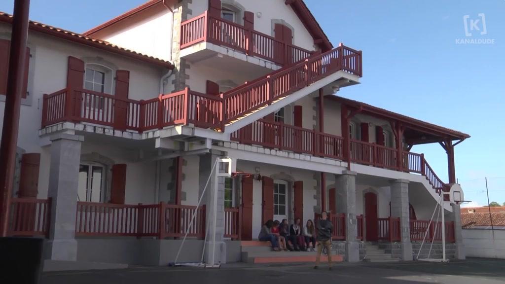 Kanaldude zuzenean: Urruñako San Frantses Xabier eskola