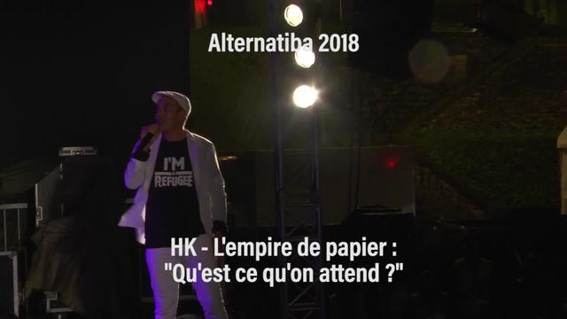 """Alternatiba 2018: HK """"Qu'est-ce-qu'on attend ? """""""