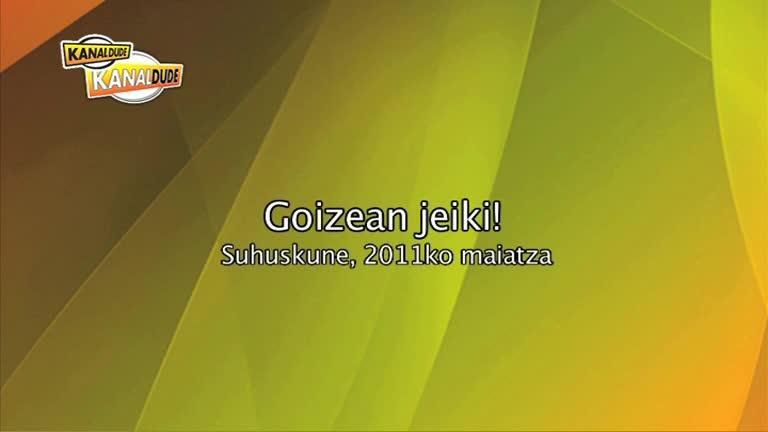 Ortzaizeko Ikastola : Goizean Jeiki...