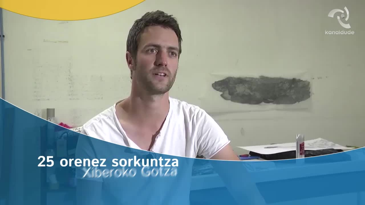25 orenez sorkuntza: Xiberoko Gotza