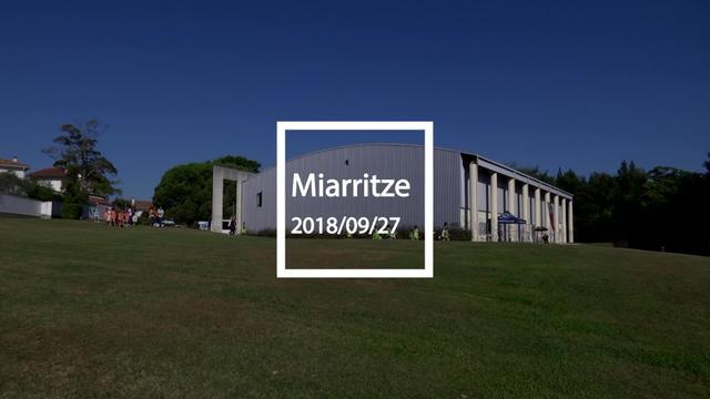 Marion lakutik Mouriscot lakura, Biarritzeko eskolen arteko topaketa