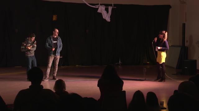 Kabaret Gaua 2019: Amets Arzallus, Odei Barroso eta Adur Larrea