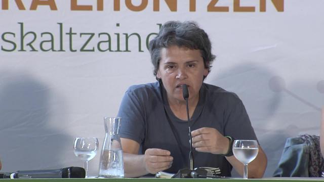 Euskaltzaindia Euskara ehuntzen : Itxaro Borda