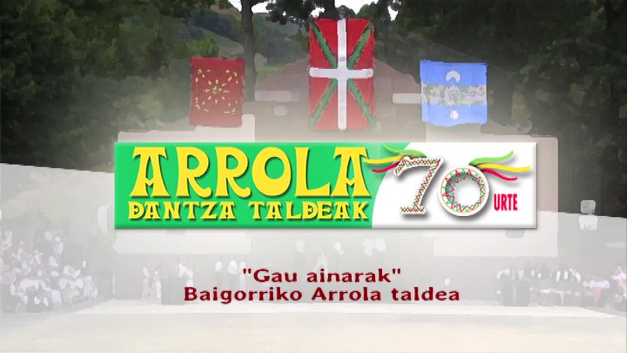 ARROLAK 70: Gau ainarak