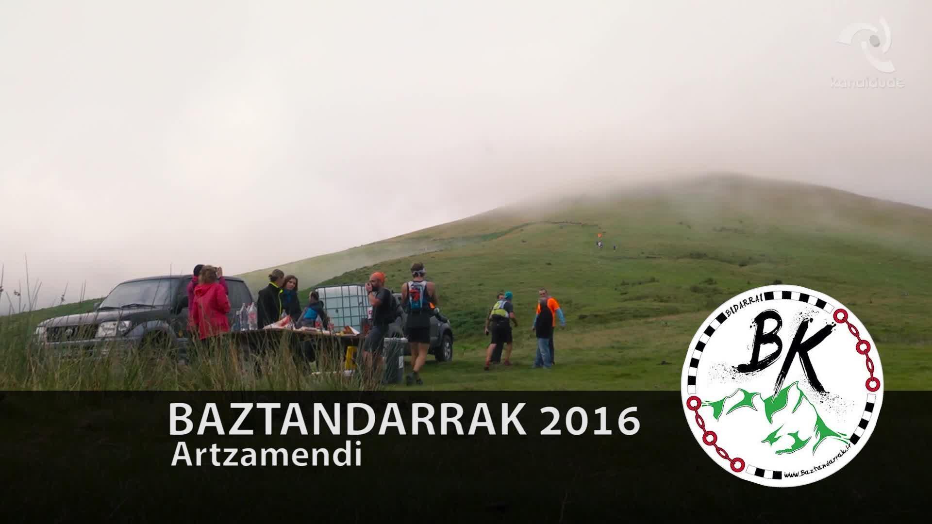 BAZTANDARRAK 2016 Artzamendi