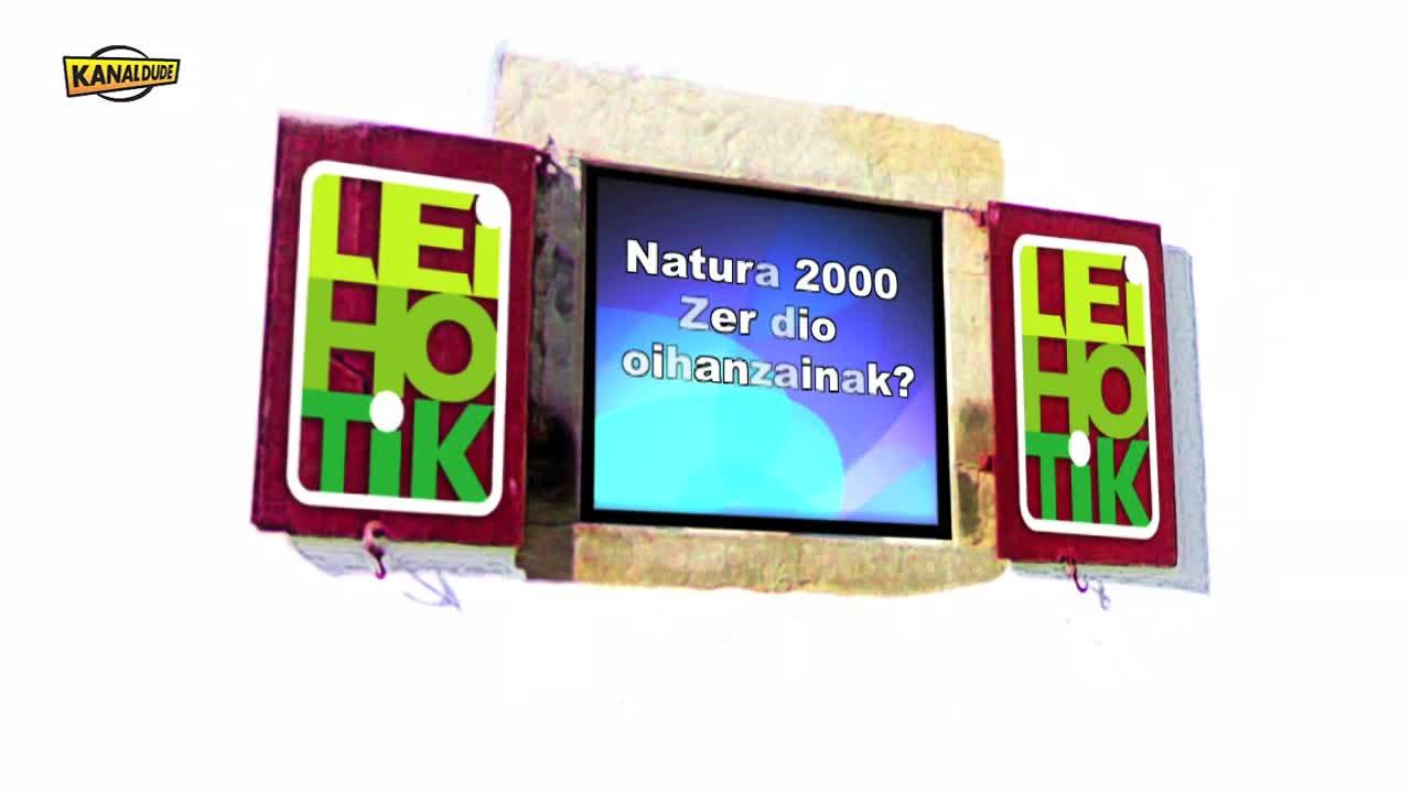 Leihotik: Zer dio oihanzainak Natura 2000z ?