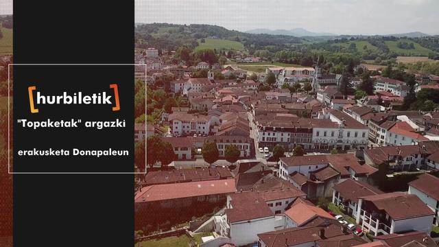 """""""Topaketak"""" argazki erakusketa Donapaleun"""