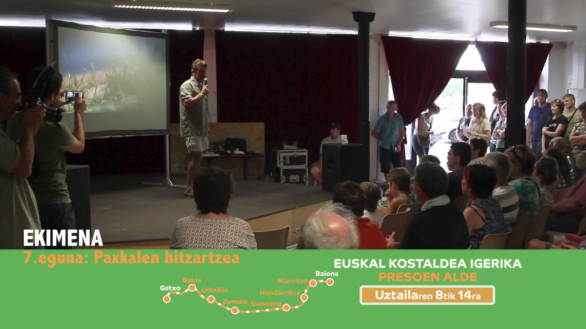 EKIMENA 7.eguna: Paxkal Elgarten hitzartzea