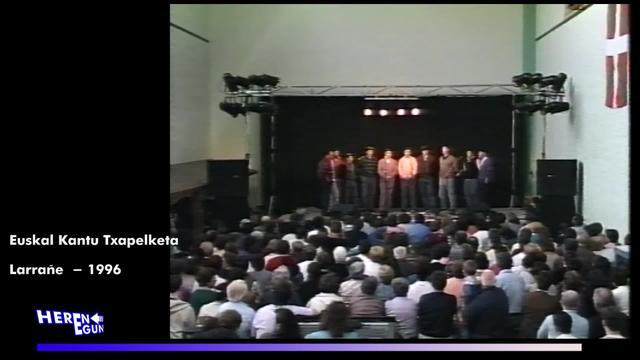 Herenegun #13 - Euskal Kantu txapelketa Larrañe 1996