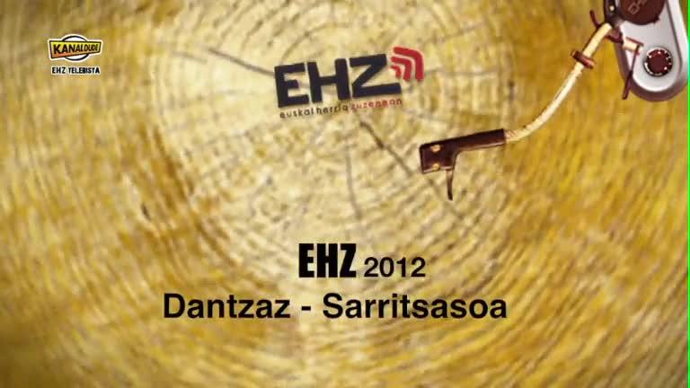 EHZ 2012 : Dantzaz sarritsasoa