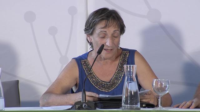 Euskaltzaindia Euskara ehuntzen: Sagrario Aleman