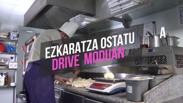 Ezkaratza ostatua drive moduan
