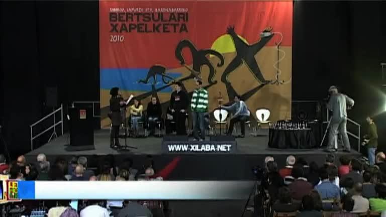 XILABA 2010 : Eneritz Zabaleta eta Amets Arzallus