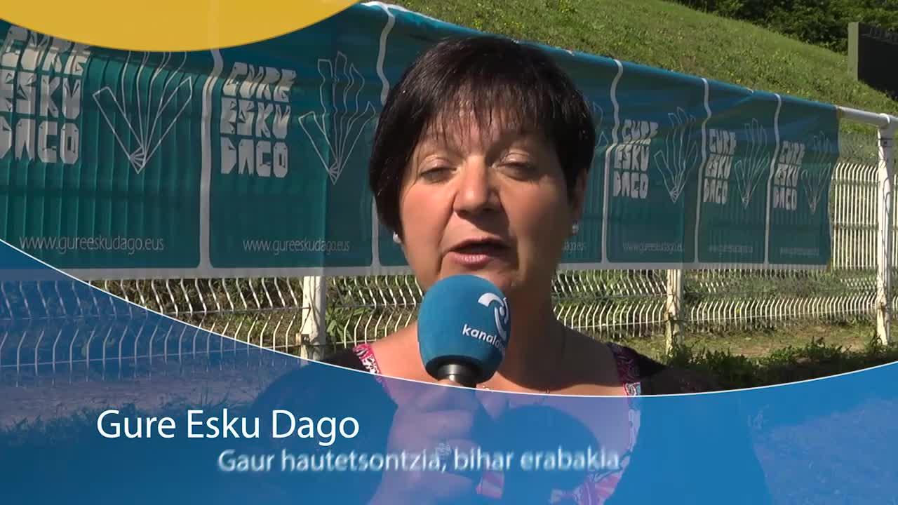 Gure Esku Dago: Gaur hautetsontzia, bihar erabakia