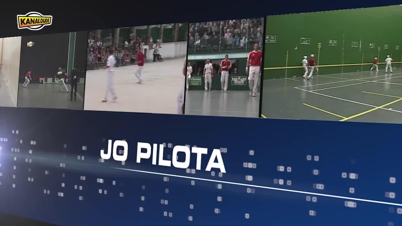Euskal herriko Pilota Finalak 2014: Xistera, Uztaritzen
