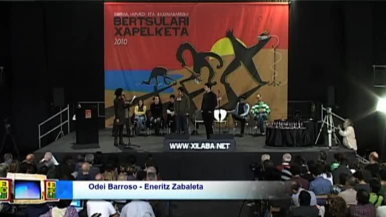 XILABA 2010 : Odei Barroso eta Eneritz Zabaleta