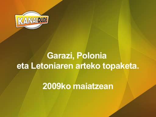 Garazi, Polonia eta Letoniaren arteko topaketa