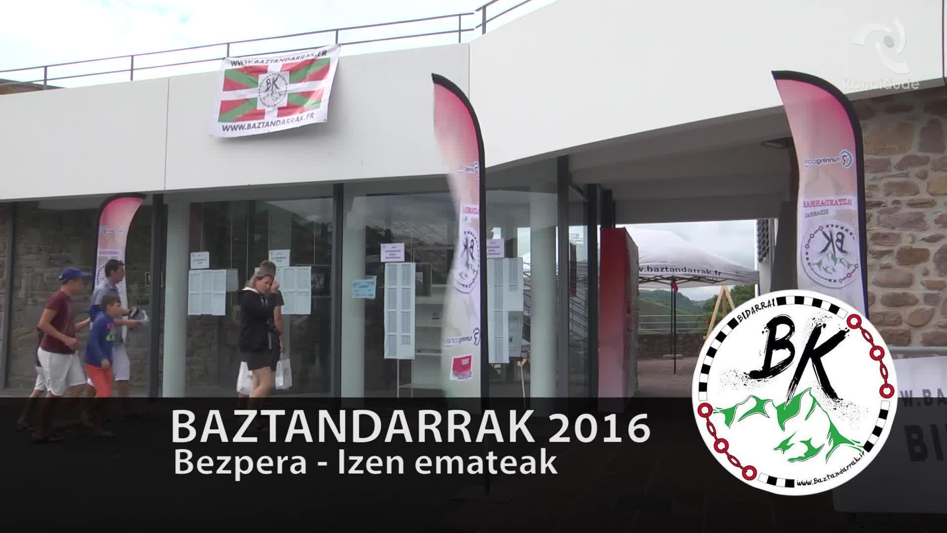 BAZTANDARRAK 2016 Elgarrizketak: Xabi Saragueta