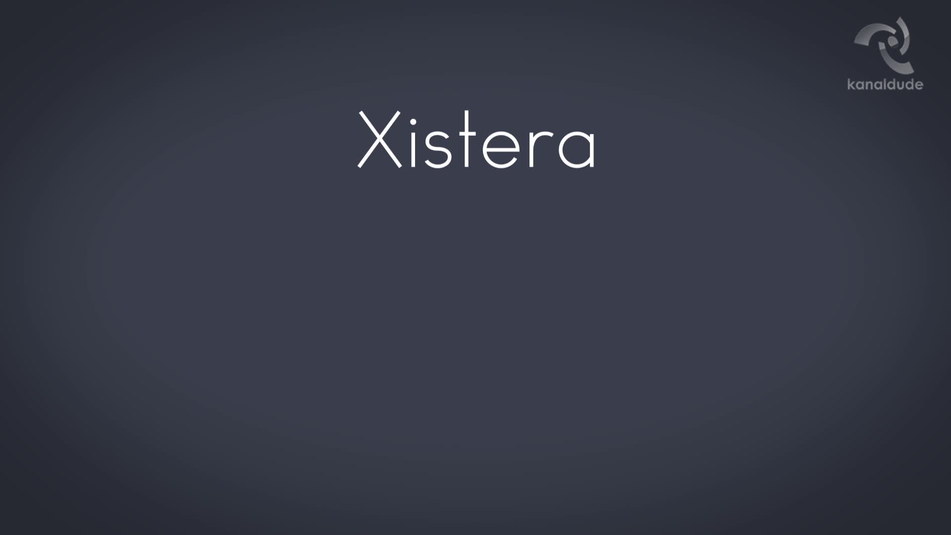 TUTO: Xistera