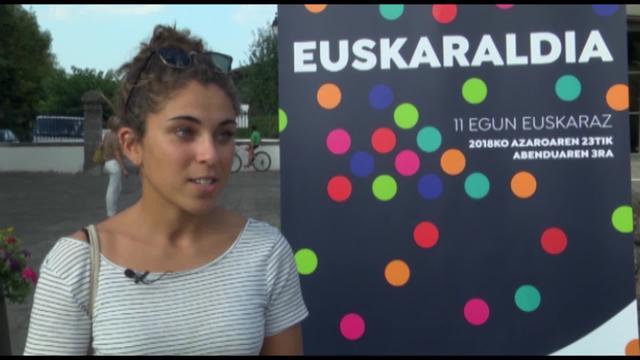 Euskaraldia: Kamila Gratien