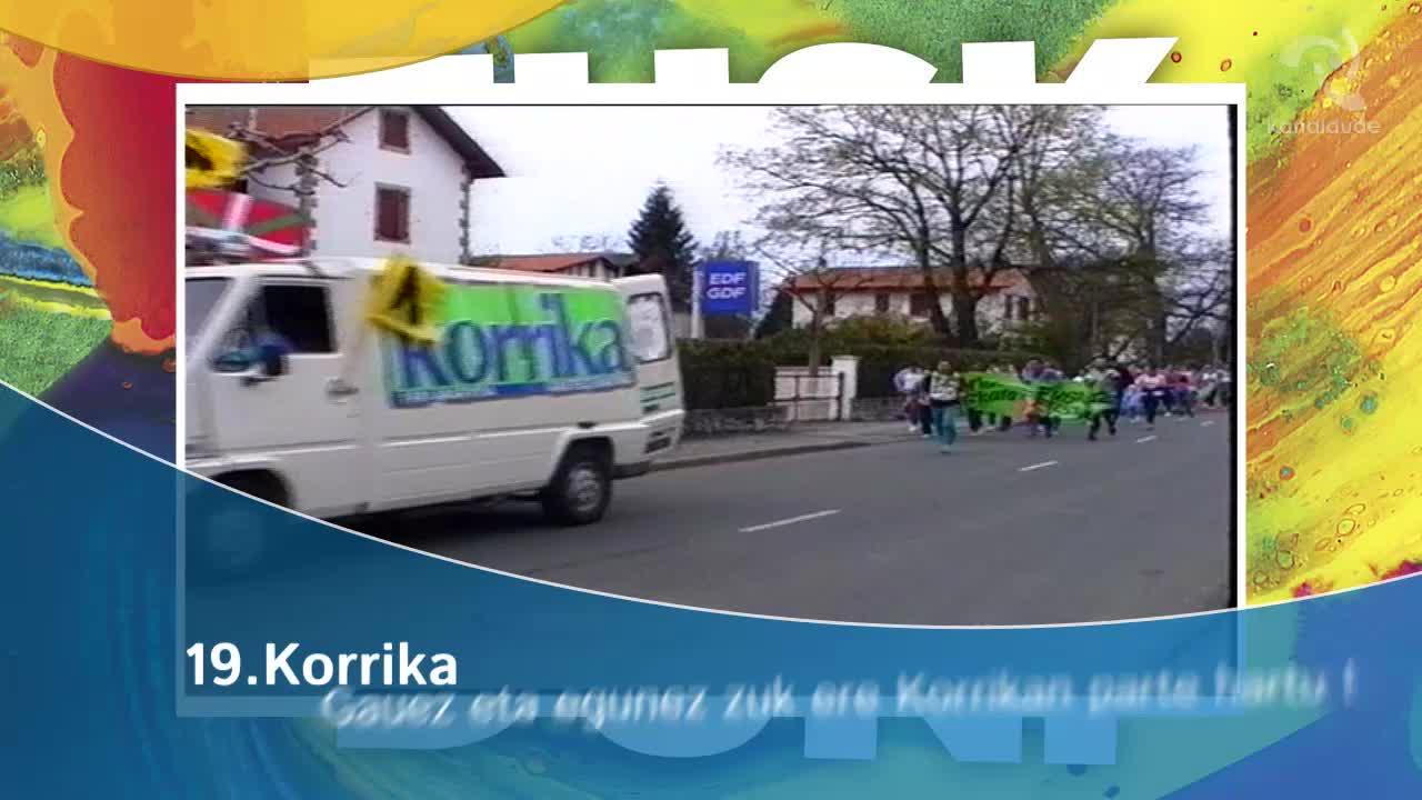 19. Korrika: Gauez eta egunez zuek ere Korrikan parte hartu !