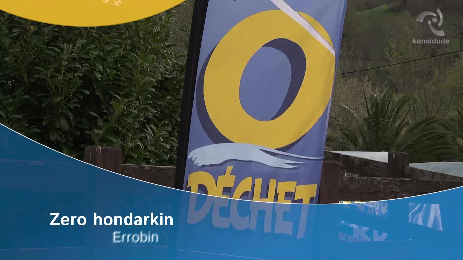 Zero hondarkin Errobin