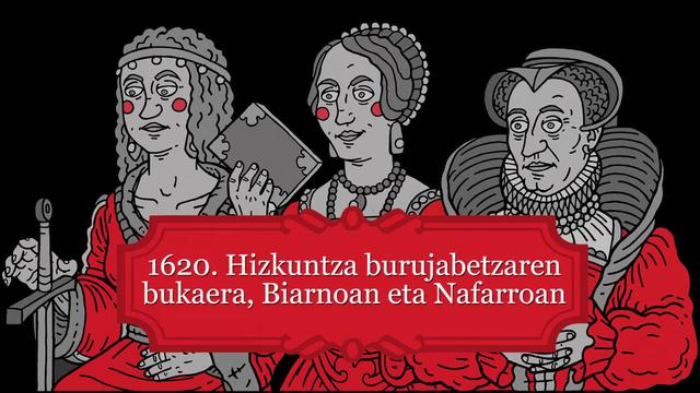Hizkuntza burujabetzaren amaiera 1620ko Biarno eta Nafarroan.  Iñaki Lopez de Luzuriagaren hitzaldia
