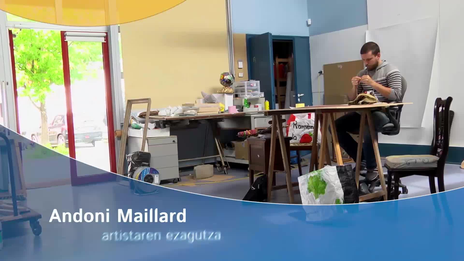 Andoni Maillard artistaren ezagutza