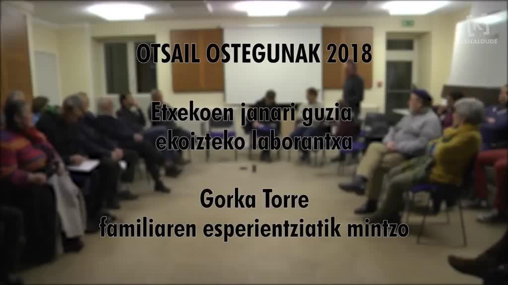 Etxekoen janari guzia ekoizteko laborantxa (Otsail ostegunak 2018)