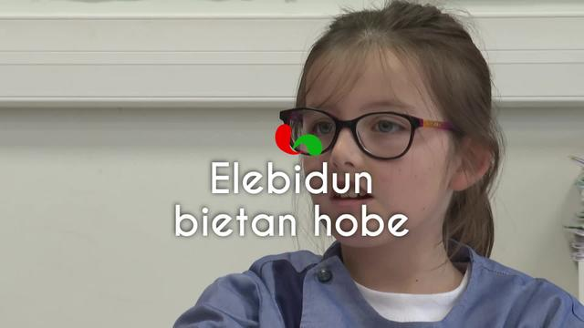 Euskal Haziak: elebidun bietan hobe!