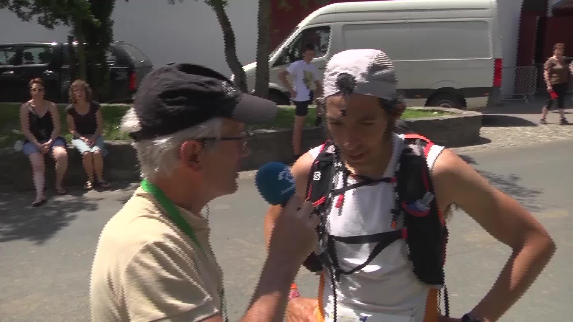 Euskal Trail 2017: Sergio Luis Tejerori elgarrizketa Urepelen