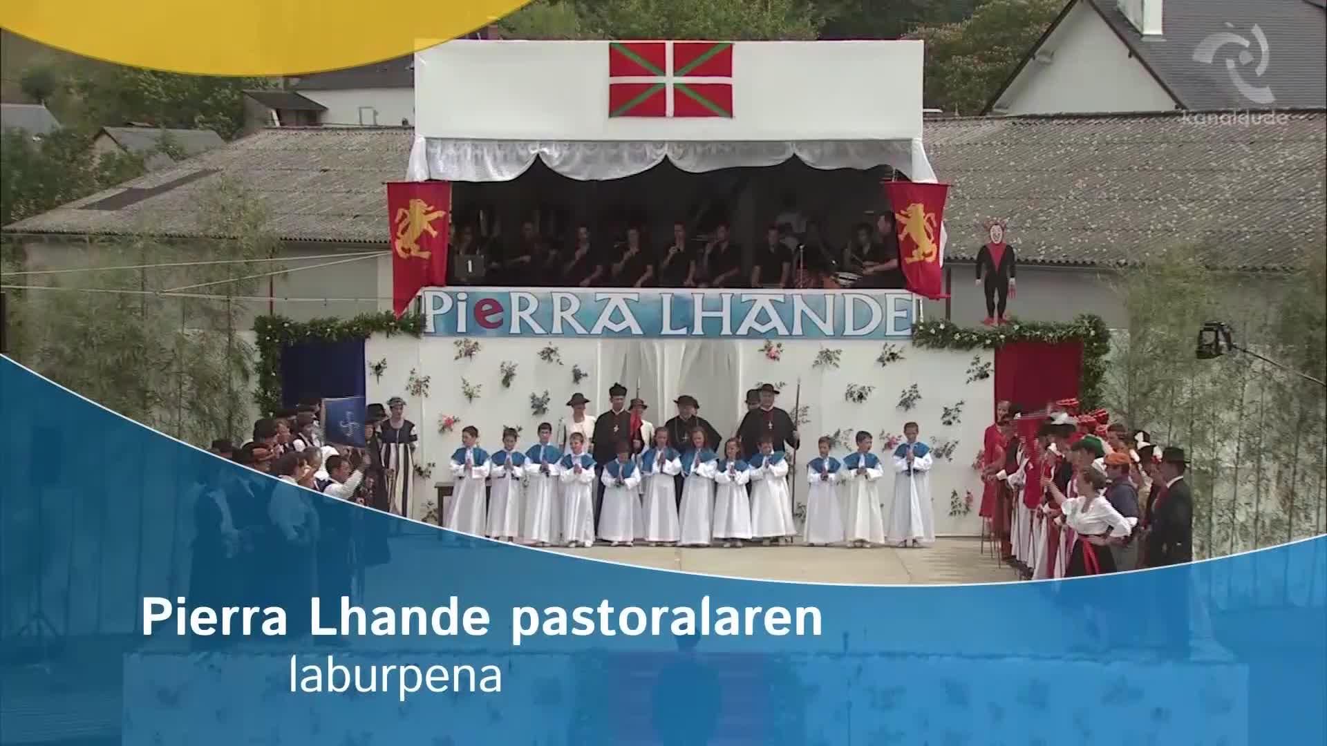 Pierra Lhande pastoralaren DVDa salgai da