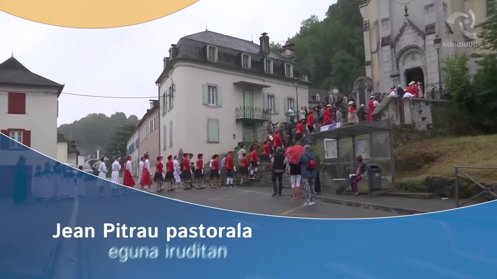 Jean Pitrau pastorala eguna iruditan