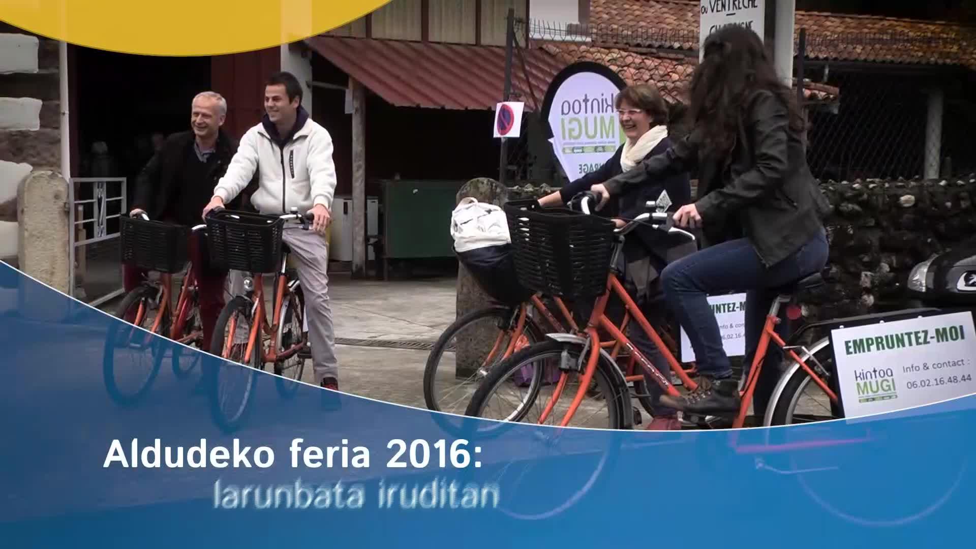 Aldudeko Feria 2016: larunbata iruditan