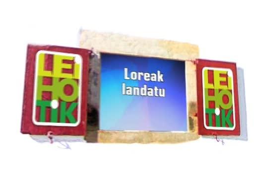 Ortzaize eskulan Loreak landatu