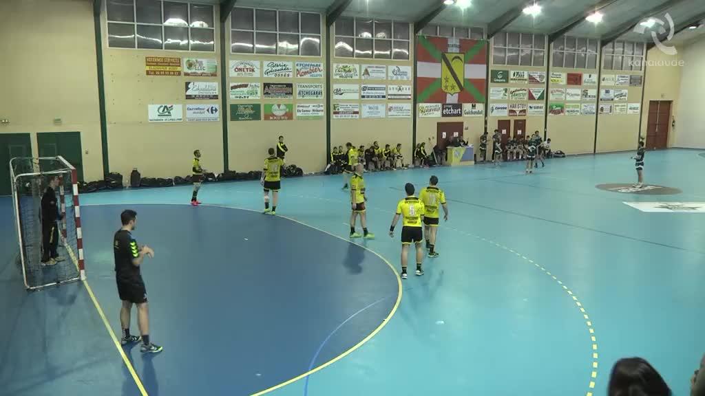Eskubaloia: Irisarri VS Zibero Sport 2.denboraldia