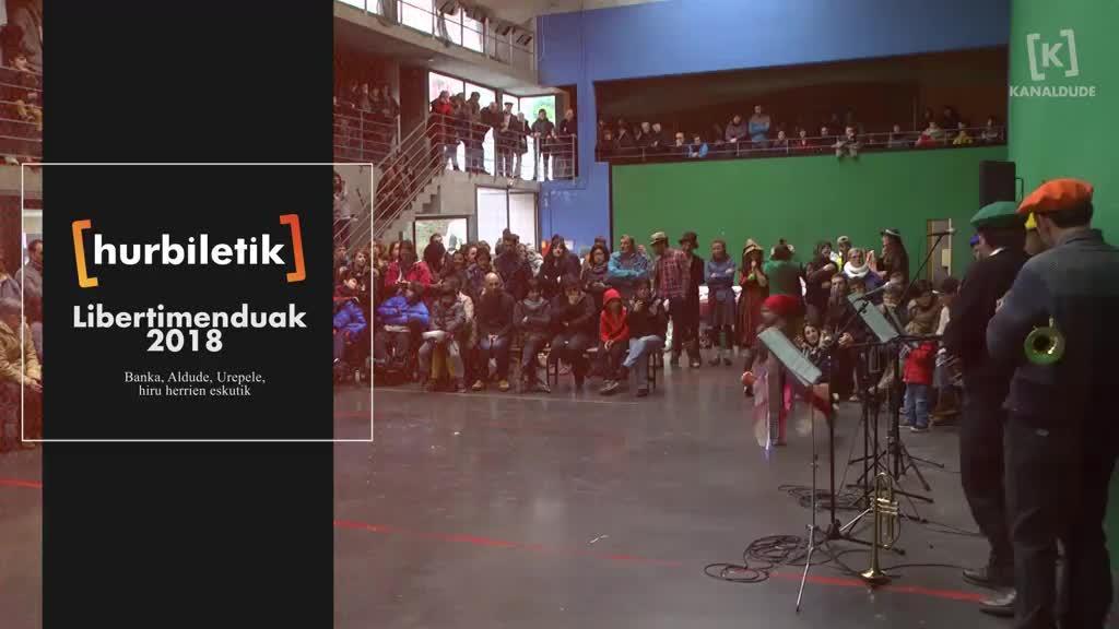 Libertimenduak 2018, Banka, Aldude Urepele 3 herrien eskutik