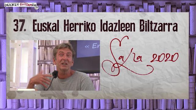 IDAZLEEN BILTZARRA 2020 -EROS- Eric Dicharry