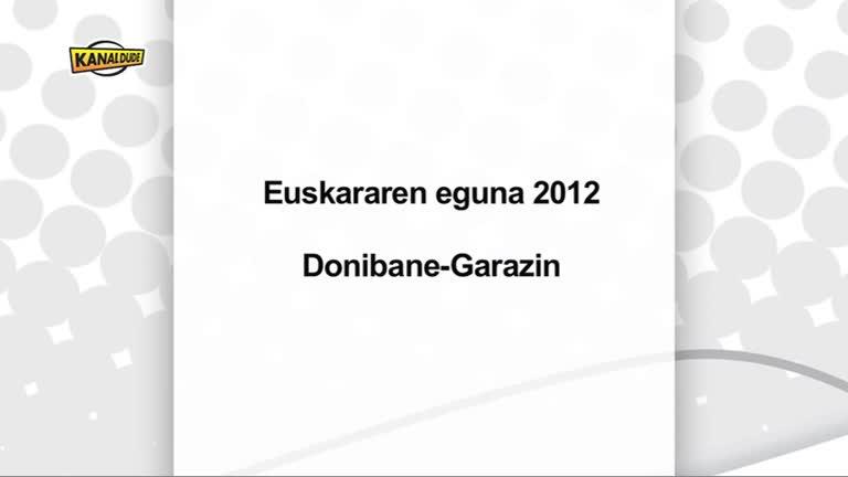 Euskararen urtaroa Donibane Garazin