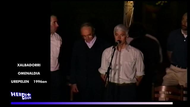 HERENEGUN #21: Xalbadorri omenaldia Urepelen 1996an