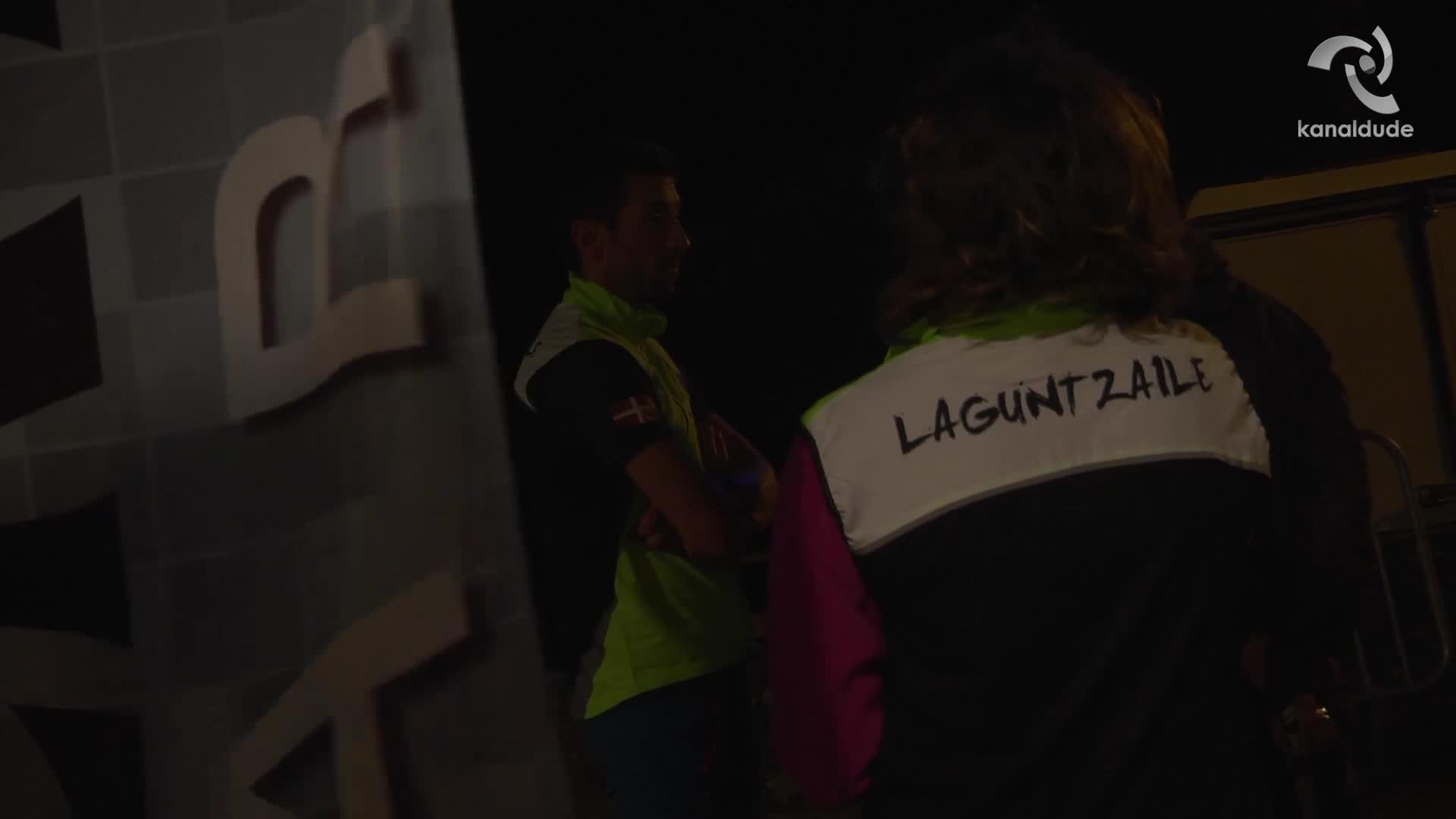 Baztandarrak 2017: Maxime Cazajous 34.kilometroan