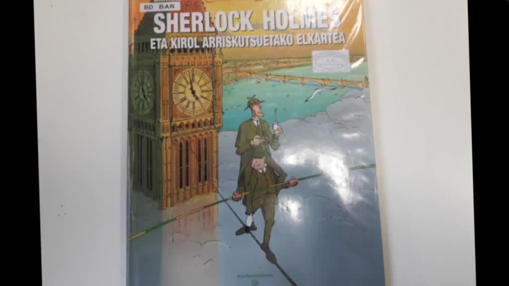 "Booktrailerra 2018: ""Sherlock Holmes"""