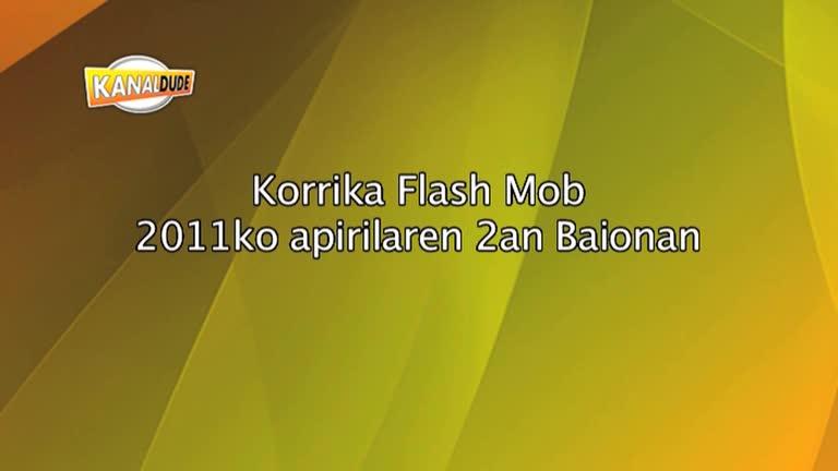 KORRIKA 2011 : Flashmob Baionan