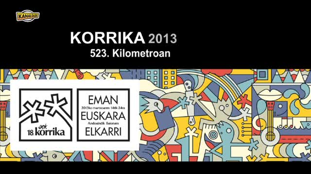 KORRIKA 2013: KM 523