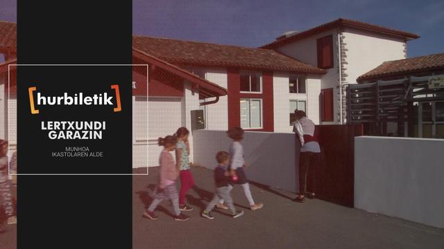 Lertxundi Garazin, Munhoa ikastolaren alde