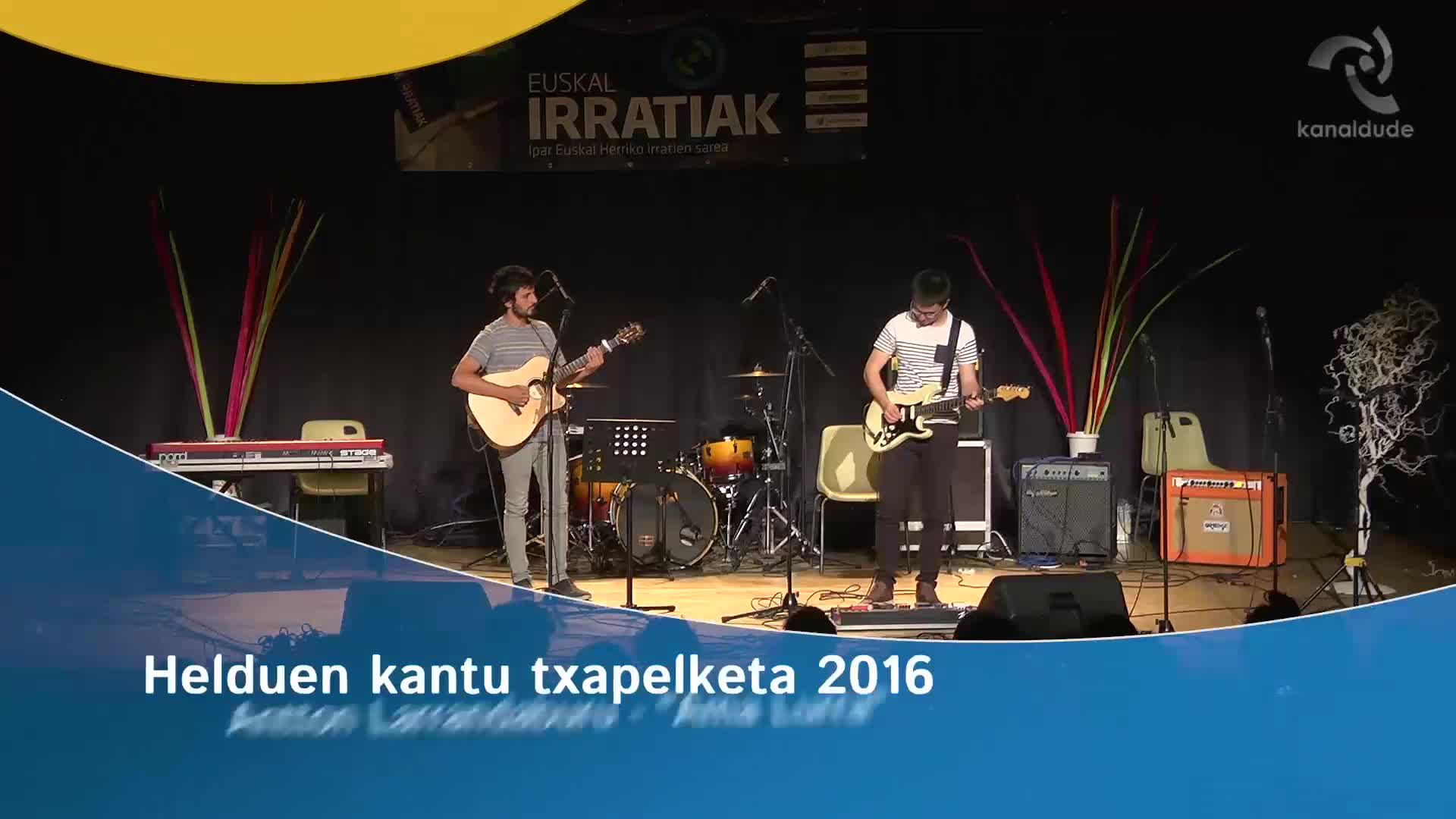 """Helduen Kantu Txapelketa 2016: Antton Larrandaburu """"Ama lurra"""""""