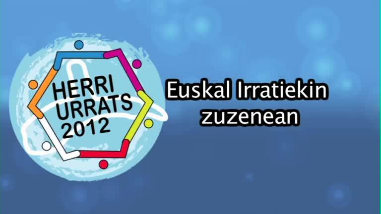 HERRI URRATS 2012 Euskal Irratiekin zuzenean
